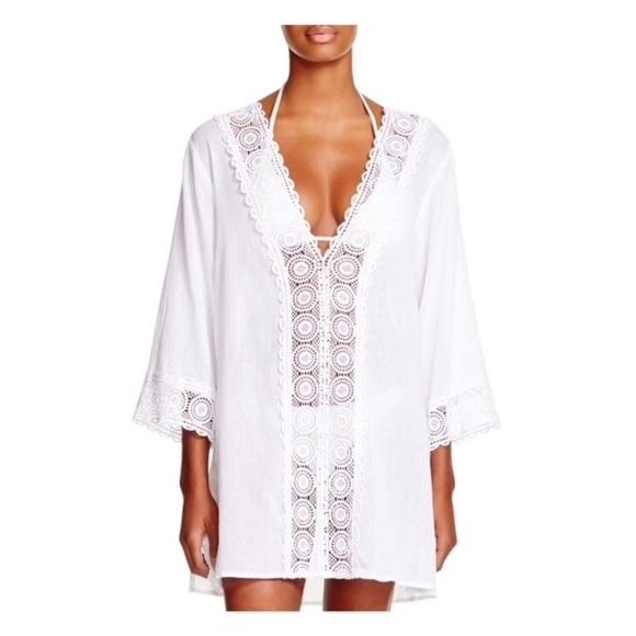 36a0398e3429d La Blanca • island fare crochet tunic coverup